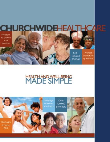 CHURCHWIDE HEALTHCARE - Pension Fund