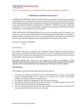 Fidelity Guarantee Insurance Oriental Insurance