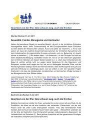 iDAF-Newsletter der Wochen 31-34 / 2011