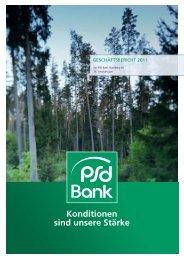 Geschäftsbericht 2011 der PSD Bank Nürnberg eG