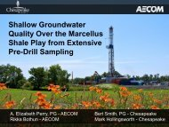 groundwater quality overlying the marcellus shale from ... - IPEC