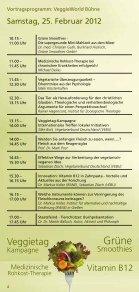 24. – 26. Februar 2012, täglich von 10 - 18 uhr rhein ... - VeggieWorld - Page 4