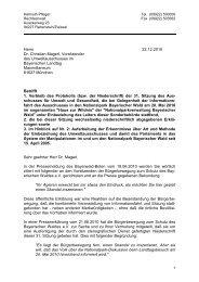 Offener Brief vom 22.12.2010 an den Vorsitzenden des ...