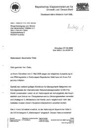 Anlage 1 - Brief des Staatsministeriums für Umwelt und Gesundheit ...