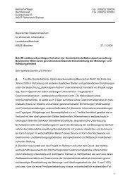 Brief vom 27.11.2009 an die Landeskartellbehörde bei dem ...