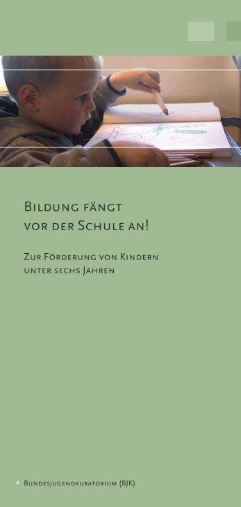 BILDunG FänGT VOR DER SCHuLE An! - Das ...