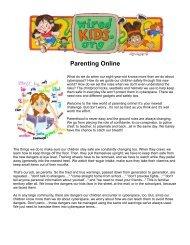 Parenting Online