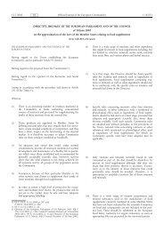 DIRECTIVE 2002/46/EC OF THE EUROPEAN ... - EUR-Lex