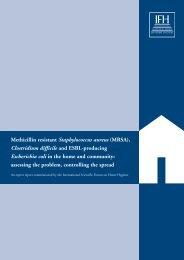 Methicillin resistant Staphylococcus aureus (MRSA), Clostridium ...