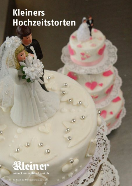 Kleiners Hochzeitstorten Aœber Kleiner