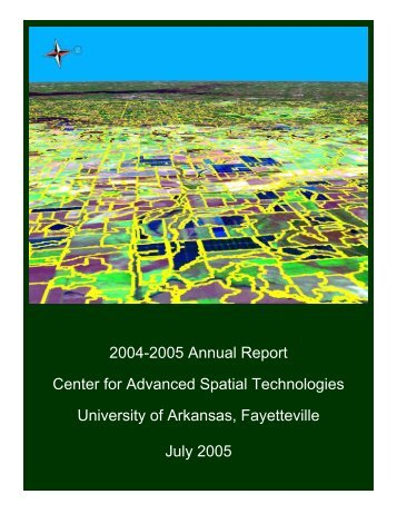 CAST Fiscal Year 2004-2005 Annual Report - Center for Advanced ...