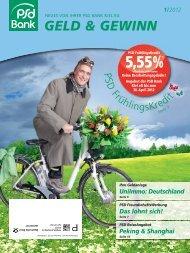 geld & gewinn 1/2012  - PSD Bank Kiel eG
