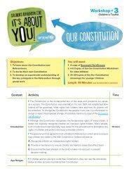Our Constitution - UNICEF Ireland