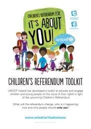 Children's RefeRendum Toolkit - UNICEF Ireland