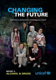 Changing the future report 3 - UNICEF Ireland