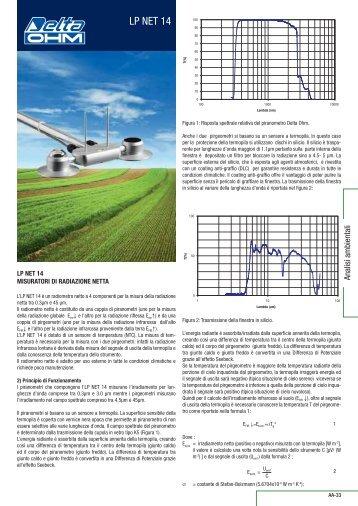 misuratori di radiazione - Delta Ohm S.r.l.