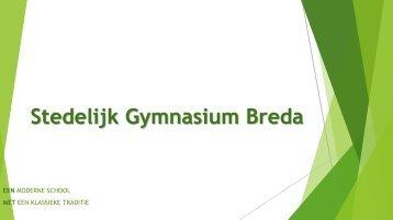 Presentatie info-avond ouders september 2013 - Stedelijk Gymnasium