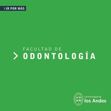 Folleto Odontologia (23x23) copia - Universidad de los Andes ...