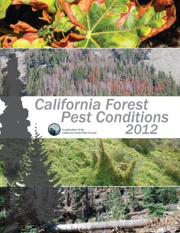 2012 California Forest Pest Conditions Report - Board of Forestry