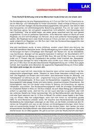 Regelsatzfestlegung - LIGA Rheinland-Pfalz
