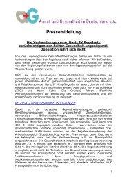 Pressemitteilung - über den Verein