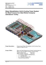 Water Rehabilitation Unit & Cooling Tower System for Blast Furnace ...