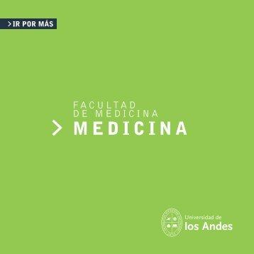 MEDICINA - Universidad de los Andes - Admisión