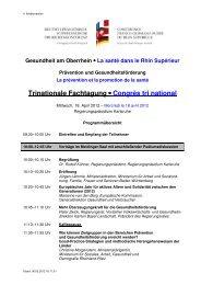 Programmübersicht 2012_03_06 - über den Verein