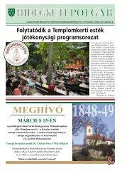 2013. MÁRcIUs 8. - Budai Polgár