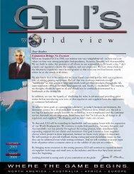 Fall Winter 2005-2006 - Gaming Laboratories International