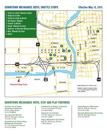 Map of Downtown Kalamazoo