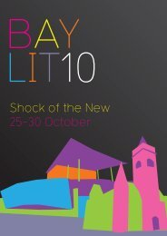Shock of the New 25-30 October - Literature Wales