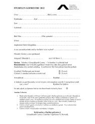 Booking Form - Literature Wales