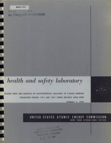 health and safety laboratory