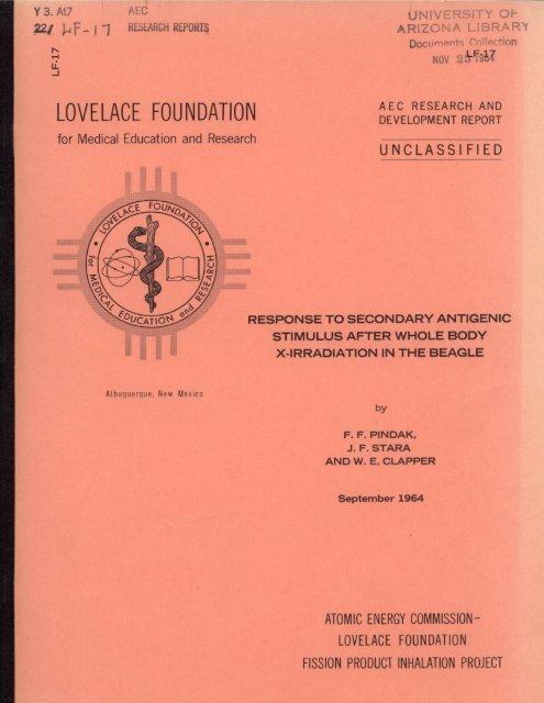 LOVELACE FOUNDATION - UNT Digital Library