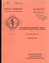 LOVELACE FOUNDATION - Digital Collections