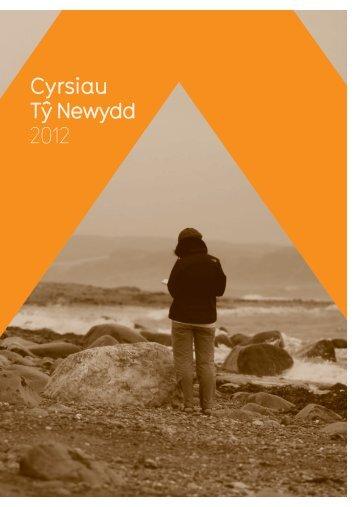 Cyrsiau TÅ· Newydd 2012 - Literature Wales