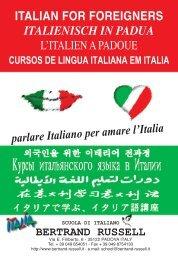 SCUOLA DI ITALIANO BERTRAND RUSSELL