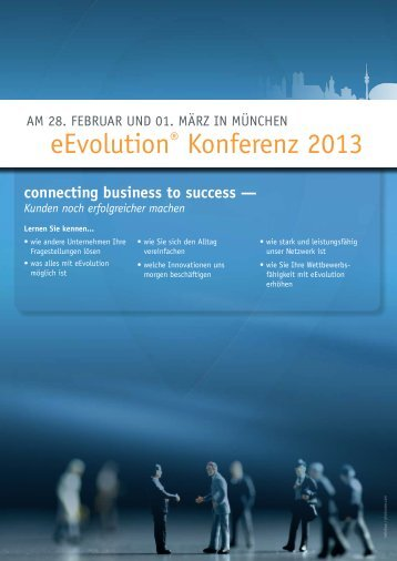 eEvolution® Konferenz 2013