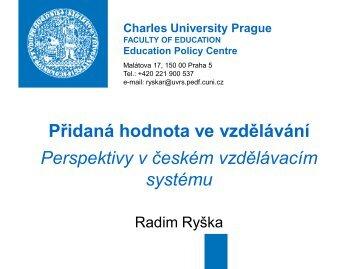 VAM 2007 CZ - Středisko vzdělávací politiky
