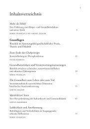 Informationen zu den Projektergebnissen im Buch Mehr als Ethik