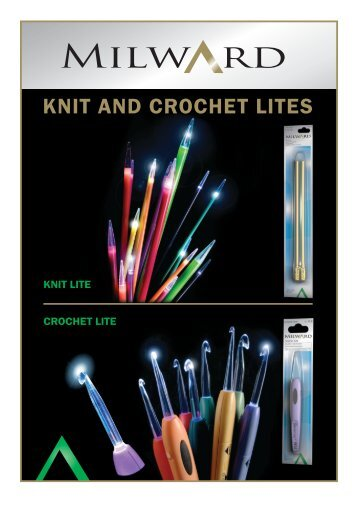 KNIT AND CROCHET LITES