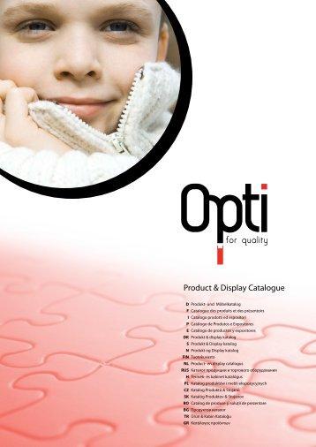 katalog zamków OPTI - Coats Crafts