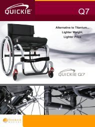 Brochure Quickie Q7 - Aidacare