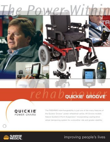 Sunrise Medical. Groove - Mobility Works