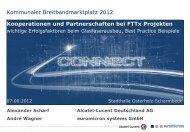 1. OPEN ACCESS Netze - Kommunaler Breitband Marktplatz 2012