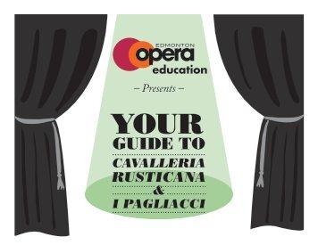 Cavalleria Rusticana & I Pagliacci - Edmonton Opera