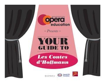 Les Contes d'Hoffmann - Edmonton Opera