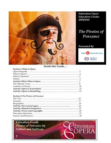 The Pirates of Penzance - Edmonton Opera