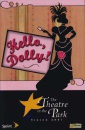 Hello, Dolly! • 2007 - Theatre in the Park